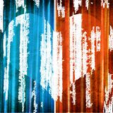 Graphic design background composition with hearts Royalty Free Stock Images