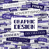 GRAPHIC DESIGN Stock Images