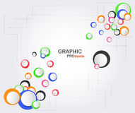 Graphic design background with text space. Graphic design background with text space, Vector Design Stock Photo