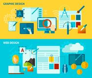 Graphic Design Banner Royalty Free Stock Photo