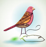 Graphic design bird Royalty Free Stock Photos