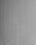 Graphic design detail. Of a grid in aluminum on a building surface Royalty Free Stock Images