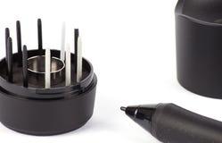 Graphic Design Digitized Pen Stock Photos