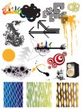 Graphic Design Elements Royalty Free Stock Photo
