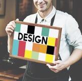 Graphic Design Illustration Creative Visual Concept Stock Images