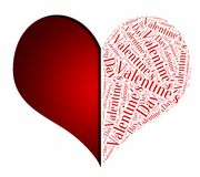 Graphic design love or Valentine's Day related Royalty Free Stock Photo
