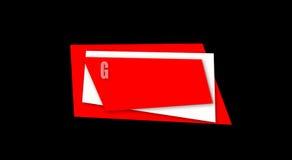 Graphic Design Media Intro Design stock video footage
