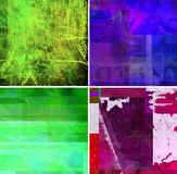 Graphic design paint background collection Stock Photography