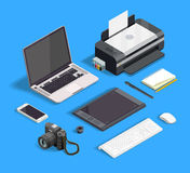 Graphic Design Set vector illustration