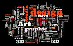 Graphic design studio Stock Photos