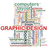 Graphic design tags Royalty Free Stock Photos