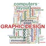 Graphic design tags stock illustration