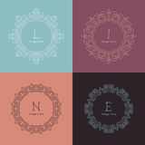 Graphic Design Templates for Logo, Labels and Royalty Free Stock Photo