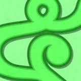 Graphic Design Thailand numbers. Stock Photo