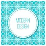 Graphic design vintage frame for logo and badges Stock Photo