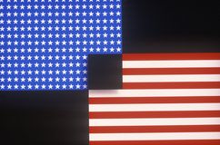 Graphic Designed American Flag Royalty Free Stock Photos