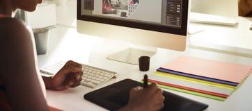 Graphic Designer Creativity Editor Ideas Designer Concept Royalty Free Stock Images