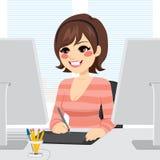 Graphic Designer Woman Royalty Free Stock Image