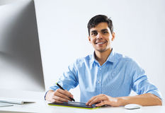 Graphic designer Stock Image