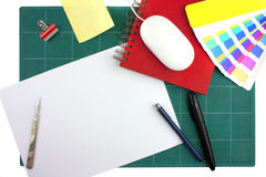 Graphic designers desktop Stock Photography
