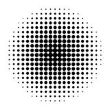Graphic element for background. Halftone. Halftone retro background for comics or pop art illustrations Royalty Free Stock Photos