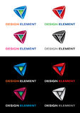 Graphic elements set. Royalty Free Stock Image