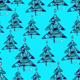 Graphic endless multicolor pattern Royalty Free Stock Image