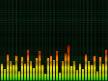 Graphic equaliser Royalty Free Stock Images