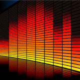 Graphic equalizer. Abstract vector illustration of a graphic equalizer Royalty Free Stock Photo