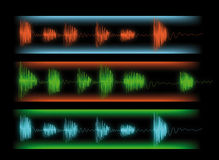 Graphic equalizer Royalty Free Stock Image