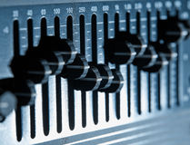 Graphic equalizer Royalty Free Stock Photo