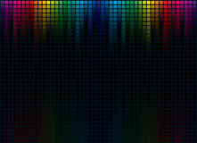 Graphic Equalizer Display Royalty Free Stock Photography