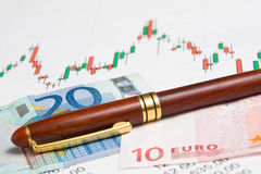 Graphic exchange Stock Photography