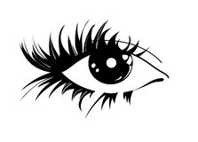 Graphic Eye Royalty Free Stock Image