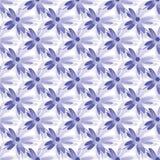 Graphic flower pattern illustration. Geometric floral oriental seamless pattern. Cute sakura shape flower textile graphic  illustration. Geometric floral royalty free stock photos