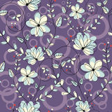 Graphic Flower S Pattern Stock Photo
