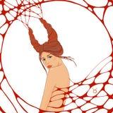 Graphic illustration zodiac sign Royalty Free Stock Photo