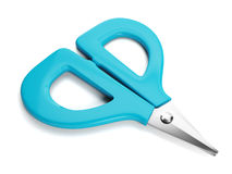 Graphic images of scissors. Royalty Free Stock Photo