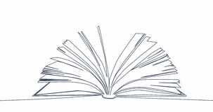 Graphic motion contour Open Book