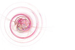 Graphic - Neon Pink Spiral Stock Photo