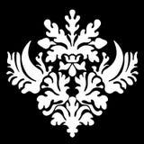 Graphic pattern black&white Royalty Free Stock Image