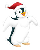The graphic of penguin Stock Photography