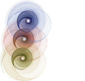 Graphic - Primary Circles Royalty Free Stock Images