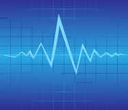 Graphic of pulse Stock Photo