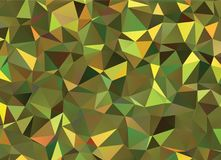 Graphic resource  for your artworks. Creative  abstract background.  Design with triangles. Polygonal vector clip art. Creative abstract vector colorful Royalty Free Stock Photo