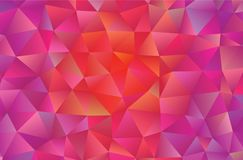 Graphic resource  for your artworks. Creative  abstract background.  Design with triangles. Polygonal vector clip art. Creative abstract vector colorful Stock Images