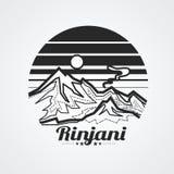 Rinjani Mountain Royalty Free Stock Image