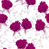Graphic roses Stock Image