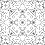 Graphic sacred geometry pattern Stock Image