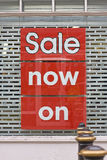 Graphic 'sale' sign Royalty Free Stock Image